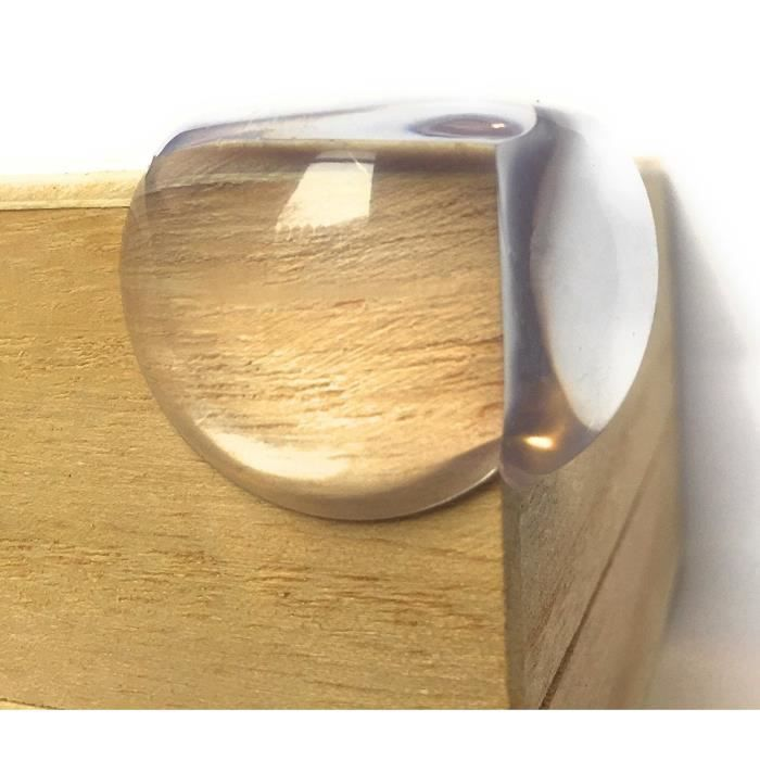 Marchelec 20PCS Protections de coins de Table Pour Bébé,Protecteur de meubles,haute qualité