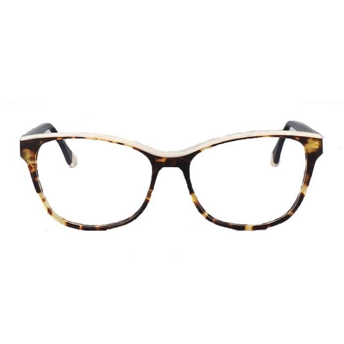 Montures de Lunettes de vue,Femmes carré monture de lunettes femmes Cateye vintage lunettes montures lumière acétate mode - Type C4