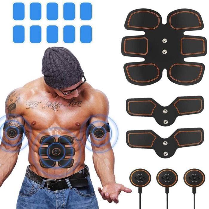 Appareil Abdo, Appareil Abdominal Muscle Stimulateur Electrique, Abdos Appareil Abdominale, Stimulateur Musculaire Abdominaux, Ems T