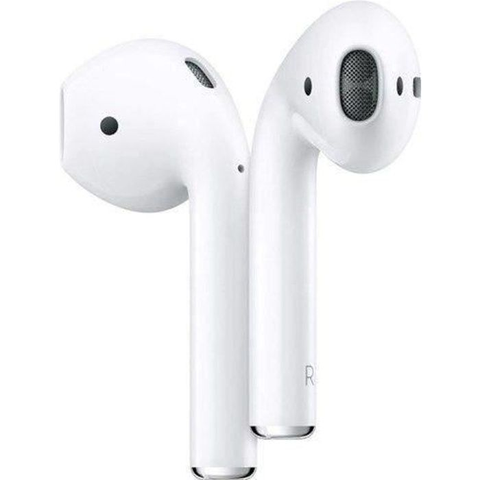 APPLE AirPods 2 - Avec étui de charge - Sans fil –