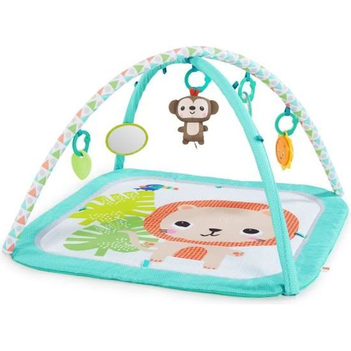 BRIGHT STARTS Tapis d'éveil Safari Blast™ Activity Gym