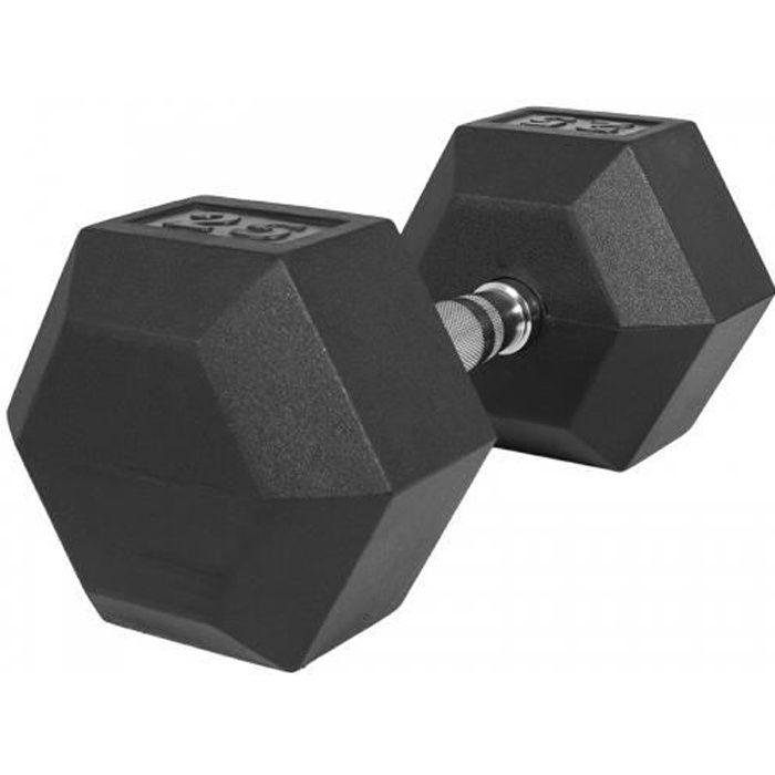 Haltère hexagonal de 25 KG