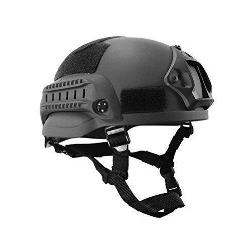 Casque de Protection de tête Unisexe -Noir