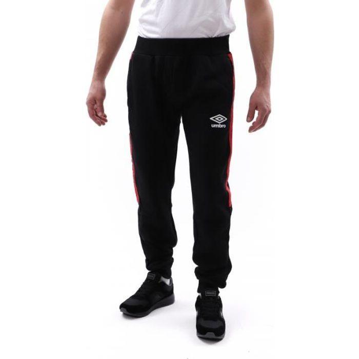 Jogging noir homme Umbro Authentic Fleece