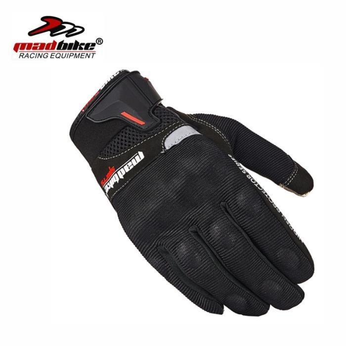 Gants,Gants de vélo Mad pour écran tactile, mitaines de Moto, de vélo, de course, de Cross Country - Type L
