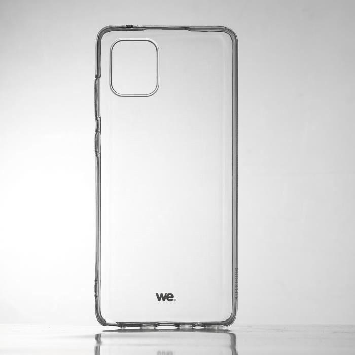 WE WE Coque de protection transparente pour Samsung Galaxy Note 10 Lite Fabriqué en TPU. Ultra résistant Apparence du téléphone