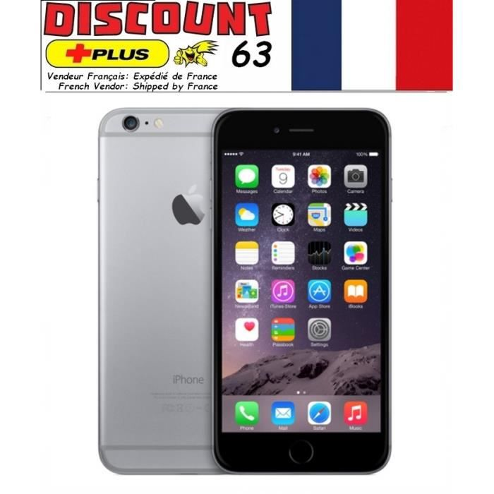 iphone 6 plus 128gb gris d bloqu achat smartphone pas. Black Bedroom Furniture Sets. Home Design Ideas