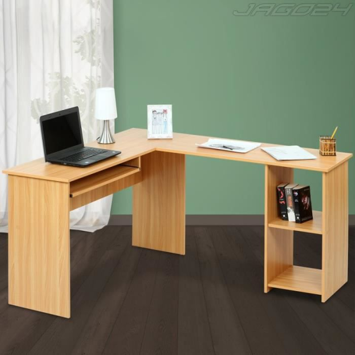 bureau d 39 angle table d 39 ordinateur h tre achat vente. Black Bedroom Furniture Sets. Home Design Ideas