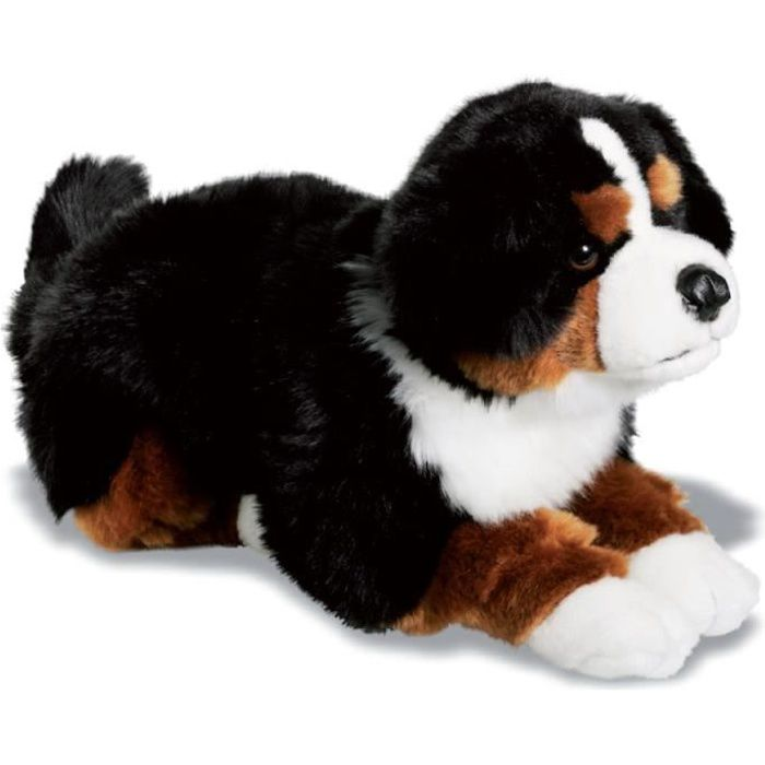 peluche chien bouvier bernois 42 cm achat vente peluche cdiscount. Black Bedroom Furniture Sets. Home Design Ideas