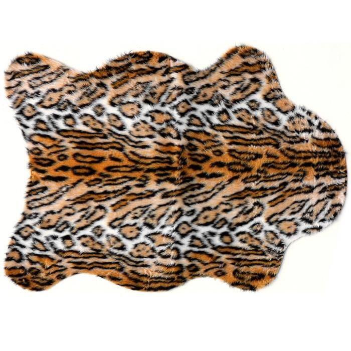 TAPIS Tapis salon PEAU DE BÊTE jaguar DEBONSOL - 150x220