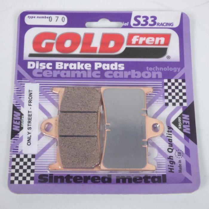 Plaquettes de Frein GOLDFREN FRITTÉ POUR YAMAHA XT 660 R 5vkc Front RH 2009