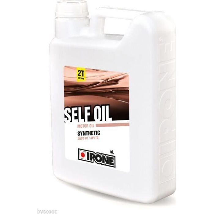 HUILE MOTEUR Huile pour mélange 2 Temps IPONE SELF OIL cyclo mo