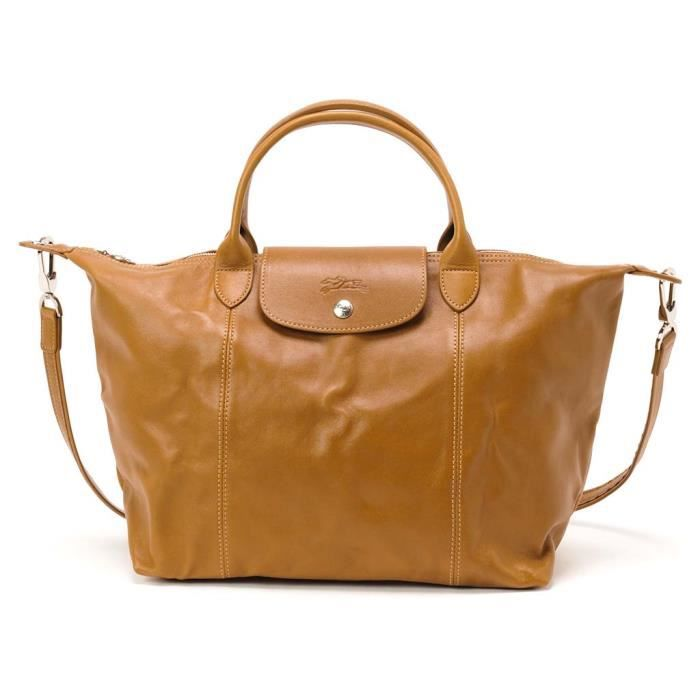 Sac Longchamp Bandouliere Marron