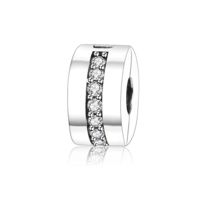 Soufeel 925 Argent Fleur Rose Exprimant lamour Charm pour Charms Collier Bracelet
