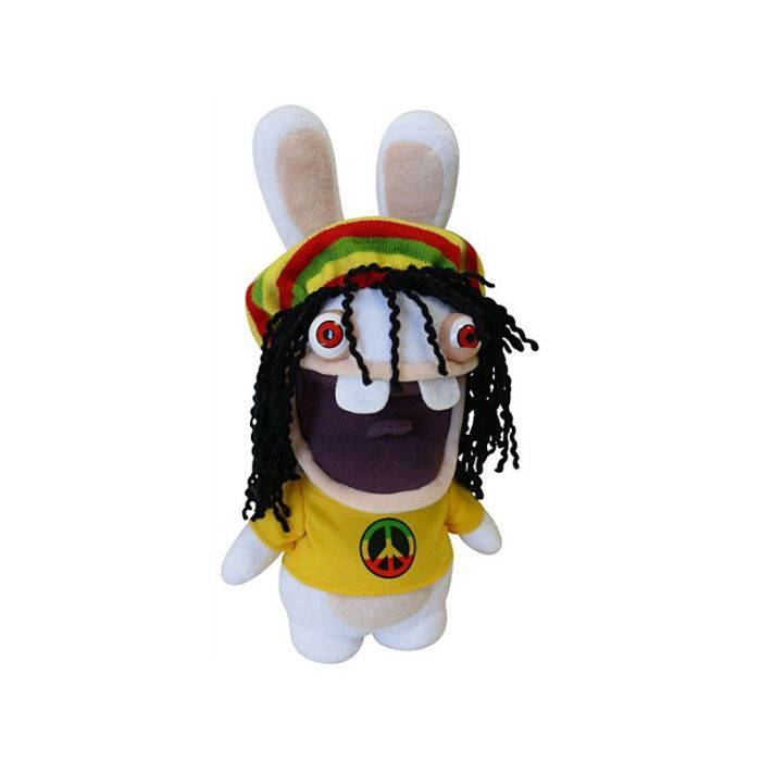 peluche lapin cr tin sonore rasta 30cm achat vente peluche peluche lapin cr tin sonore. Black Bedroom Furniture Sets. Home Design Ideas