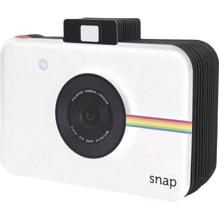 Polaroid Blanc
