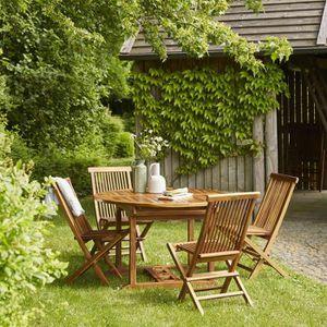 Salon de jardin bois 8 place(s) - Achat / Vente Salon de ...