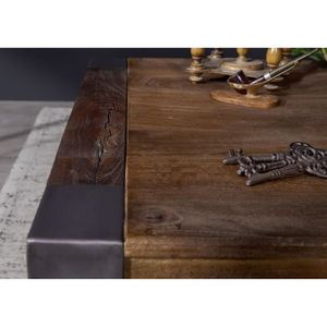 table basse marron laquee achat vente pas cher. Black Bedroom Furniture Sets. Home Design Ideas