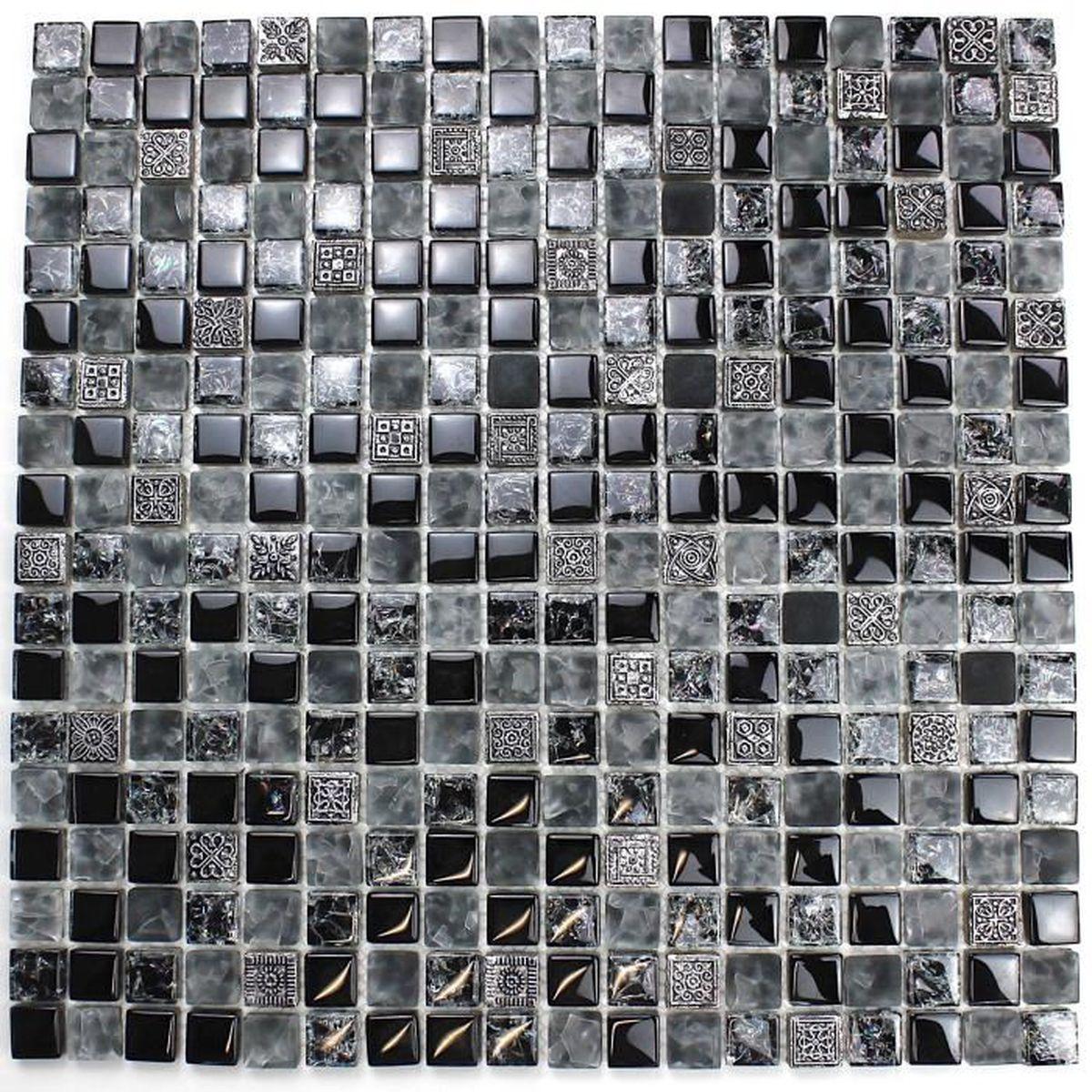 Carrelage Mosaique En Verre Et Pierre Pas Cher Mvp Shiro