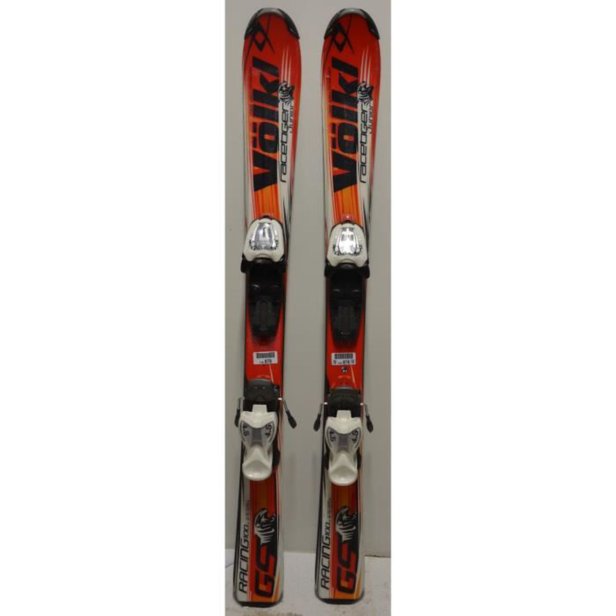 SKI Skis parabolique VOLKL Racetiger GS Junior 2010