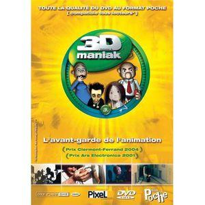 DVD DESSIN ANIMÉ DVD 3d maniak, vol. 3