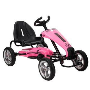 VOITURE ELECTRIQUE ENFANT UBonheur Voiture Electrique Enfant Kart Sport Raci