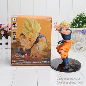 POUPÉE 18cm Dragon Ball Z Budokai Sun Goku Super Saiyan p