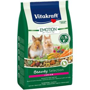 LÈVES CADRES Vitakraft Emotion Beauty Lapin Nain Junior 600 g