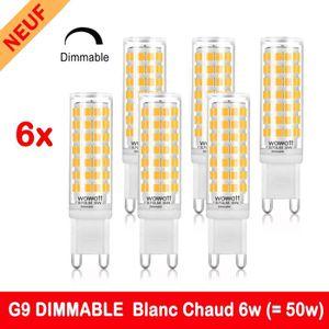 AMPOULE - LED G9 Ampoule LED Dimmable 6W Éqv.50W Halogène Lampes