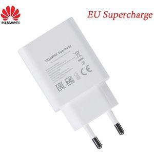 CHARGEUR TÉLÉPHONE Chargeur USB Original Super Charge USB Blanc Pour