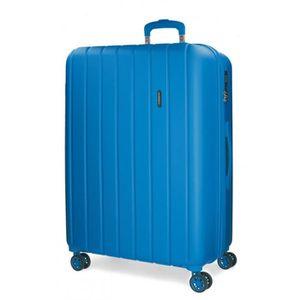 VALISE - BAGAGE Bois Movom grande valise rigide 75cm Azulon
