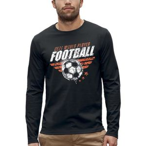 T-SHIRT T-shirt manches longues FOOTBALL - PIXEL EVOLUTION