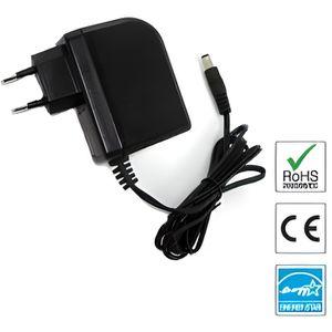 Chargeur 12v Pour Récepteur Silvercrest Sl6512 Batterie