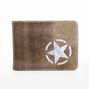 PORTEFEUILLE Portefeuille Call of Duty : Freedom Star - Marron