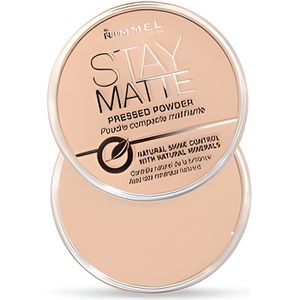 FOND DE TEINT - BASE RIMMEL Stay Matte Poudre compacte - 005 Silky Beig