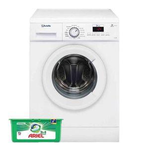 LAVE-LINGE VEDETTE Lave-Linge Frontal Blanc 7KG A+++ 1200trs/
