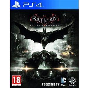 JEU PS4 BATMAN ARKHAM KNIGHT PS4