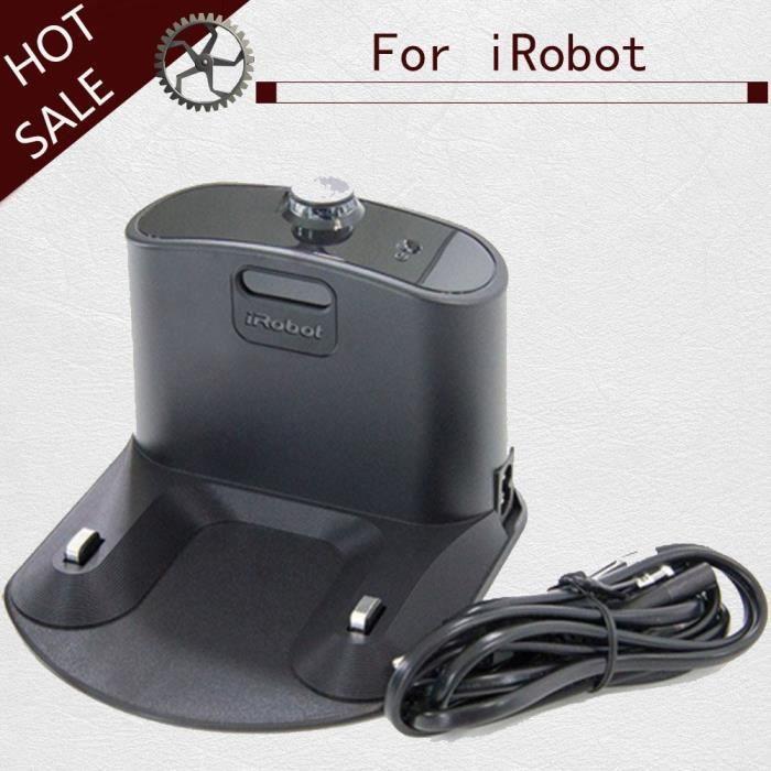 Plug UE - Station de charge pour aspirateur Robot Irobot Roomba série 500 600 700 800 900, accessoires