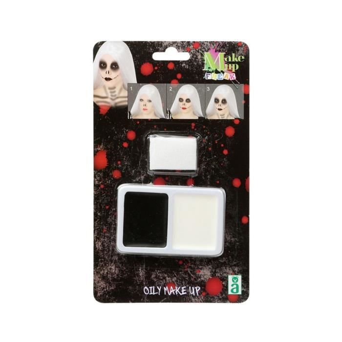 Maquillage Halloween palette AdultesMAQUILLAGE DE DEGUISEMENT - COLORATION DE DEGUISEMENT