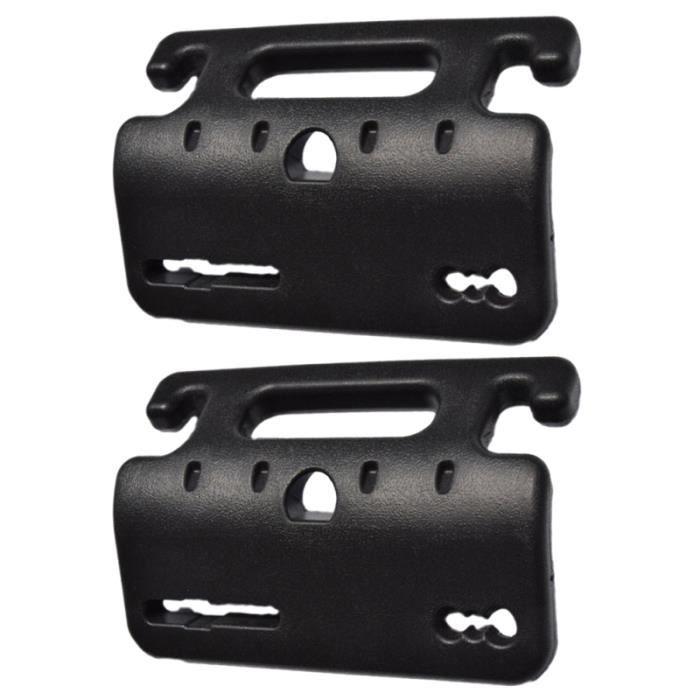 2pcs support de siège arrière durable professionnel Prime ABS crochets barre HAND GRIP - BODY GRIP - BODY GRIP - BULK BALL