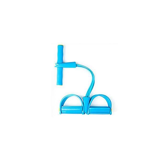 Nouveau 4 Tubes bandes de résistance de forme physique cordes de traction élastiques exercice rameur ventre gy JS10493
