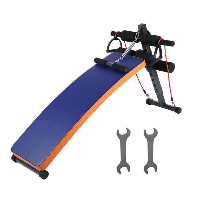 Nouveau Abdominal Ab Bench Crunch Sit Up Formation Gym Poids Courbe Conseil BANC DE MUSCULATION