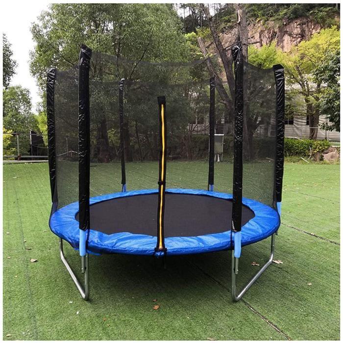 Filet de Sécurité Remplacement pour Trampoline, Filet de Trampoline de Sports de Plein Air pour Enfants avec Zip,120.