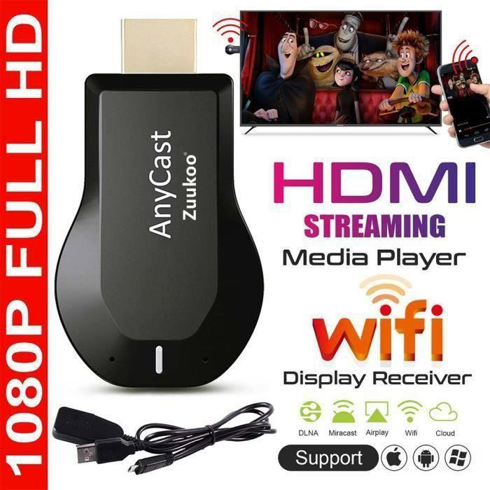 M2 Plus Mini Wi-Fi Display TV Dongle Receiver 1080P Airmirror DLNA Airplay Miracast Partage facile HDMI TV bâton pour la vid SKB16