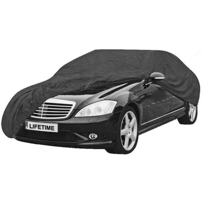 Dunlop housse de voiture XL EVA 534 x 178 x 120 cm noir