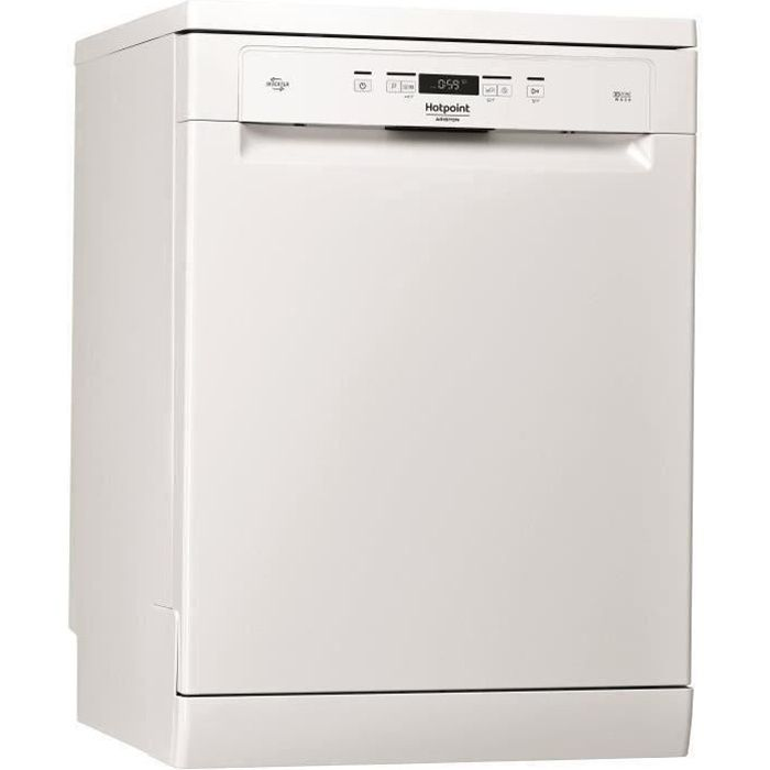 Lave-vaisselle pose libre HOTPOINT HFC3T232WG - 14 couverts - Induction - L60cm - 42dB - Blanc