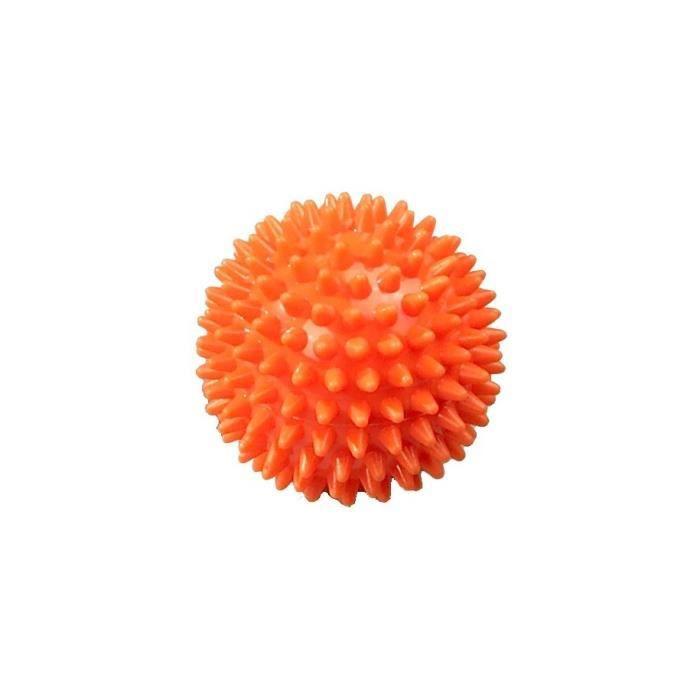 SVELTUS - Balle à Picots Orange Soft 8cm