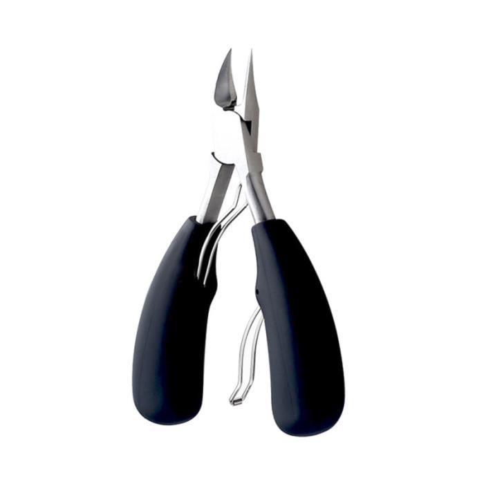 Pince à ongles pour pour pinces à épaisses ou incarnées (noir) VERNIS A ONGLES