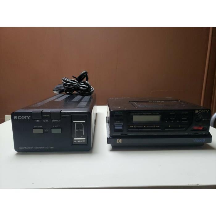 MAGNETOSCOPE SONY EV-C8E HI8 VIDEO 8 8mm LECTEUR ENREGITREUR K7 CASSETTE VCR
