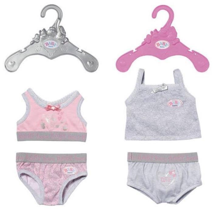 BABY Born Sous-Vêtements pour bébé de 43cm